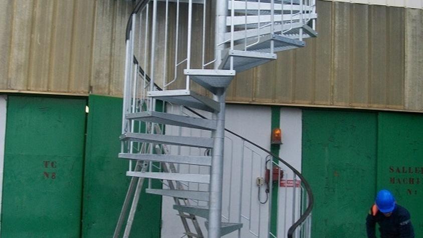 Remplacement escalier en colimaçon Trédi